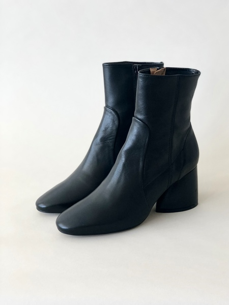 """INTENTIONALLY __________."" Luck Leather Boot - Black"