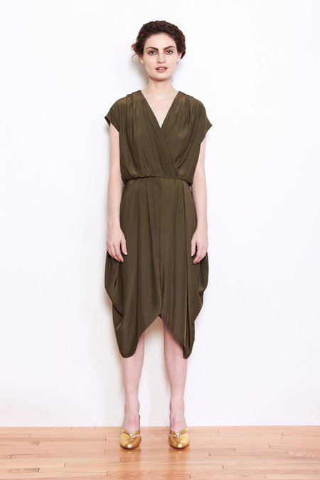 PERSONNEL of New York Farrah Dress - Olive