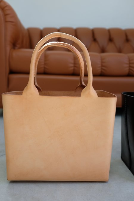 Lauren Manoogian Box Tote - Natural