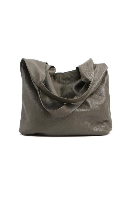 Stitch and Tickle Large Slouch Bag - Olive