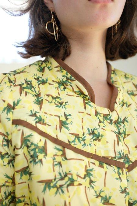 Beklina Quilted Jacket - Sprezzatura Limoncello