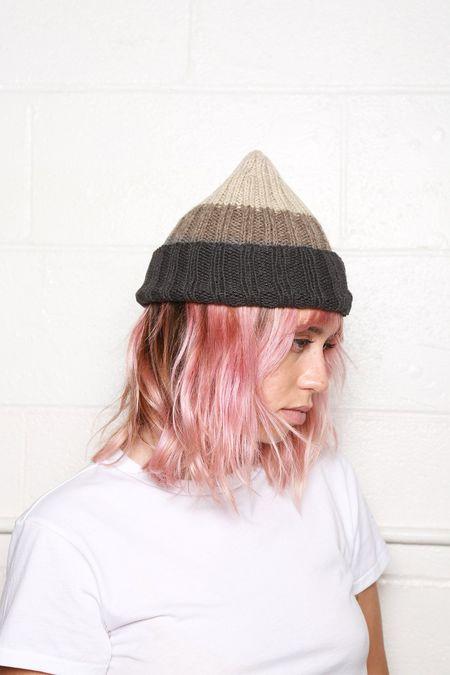 Filù Hats Cashmere Beanie - Grey Fade