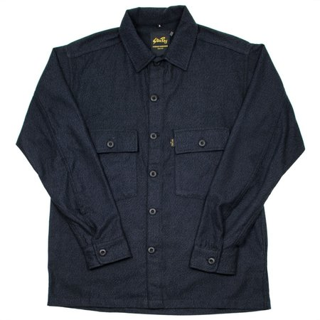 Stan Ray CPO Shirt - Black Twillmax