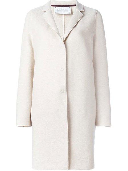 Harris Wharf Cocoon Coat - Ecru