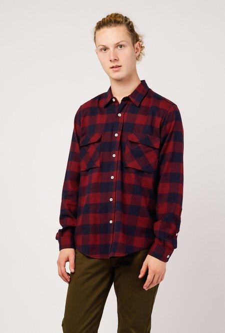 PRESIDENTS Vespa P's Softflanella Check Washed Shirt