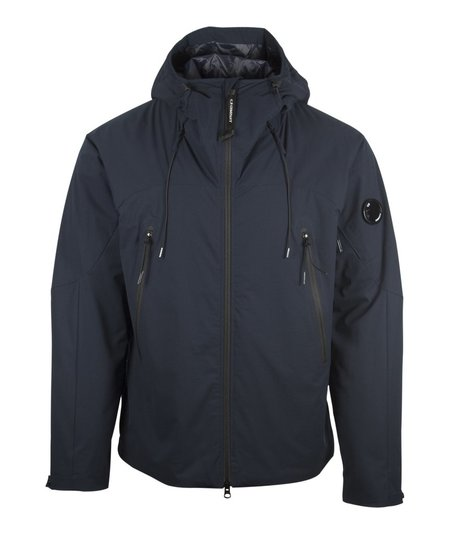 CP Company Pro-Tek Hooded Zip Jacket - Navy