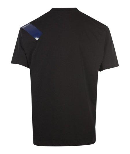 Fred Perry x Raf Simons Tape Detail T-Shirt - Black