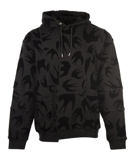 McQ Alexander McQueen Cutup Coverlock Hood - Black