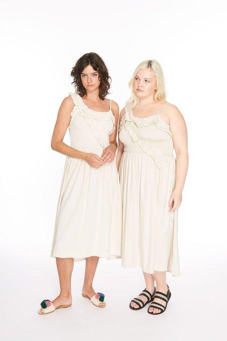 Wray Mina Dress - Natural