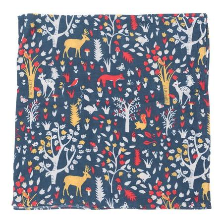KIDS Bonton Woodland Animal Print Scarf