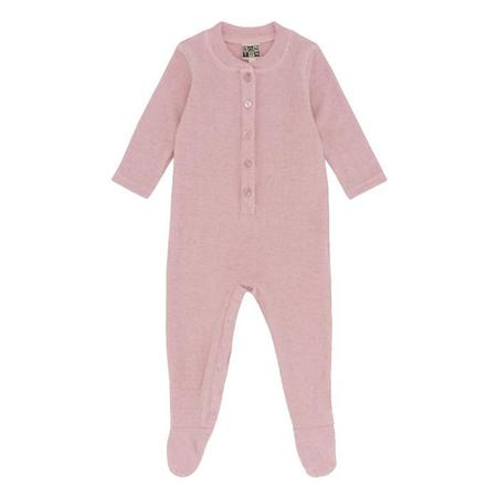 KIDS Bonton Baby Pyjamas With Feet - Marshmallow Pink