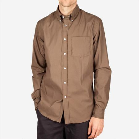 Bon Vivant Gino Long-Sleeve Shirt - Olive