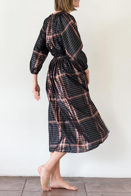 Apiece Apart Valentijn Dress - Plaid
