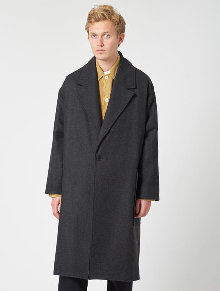 Other Taylor Overcoat - Grey