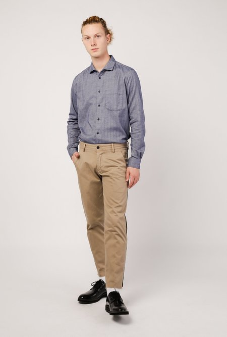 YMC Curtis Shirt - Blue