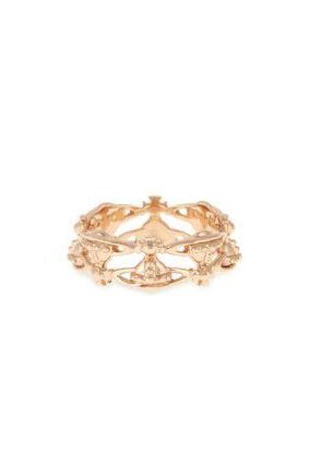 Vivienne Westwood Notting Hill Ring - Pink Gold