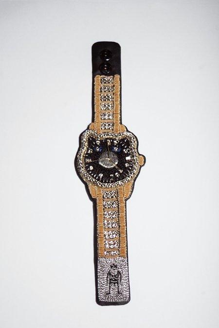 Walter Van Beirendonck P!G Watch Bracelet