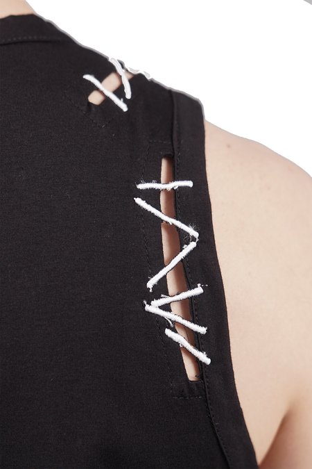 KTZ Pin Embroidery Tank Top