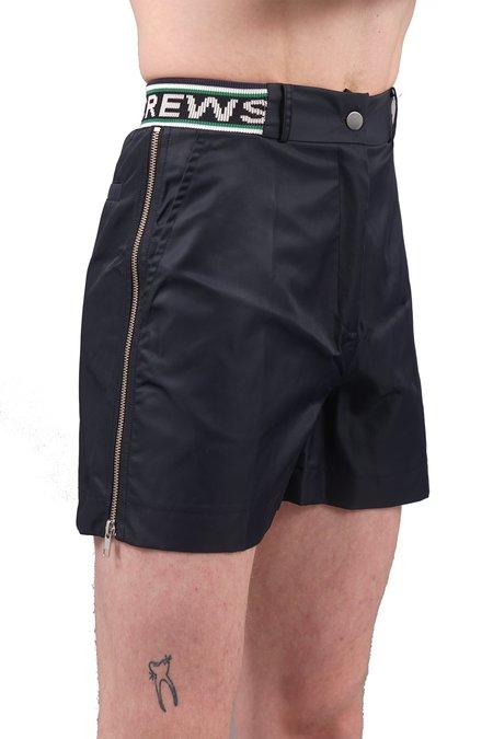 Andrea Crews Zip Shorts