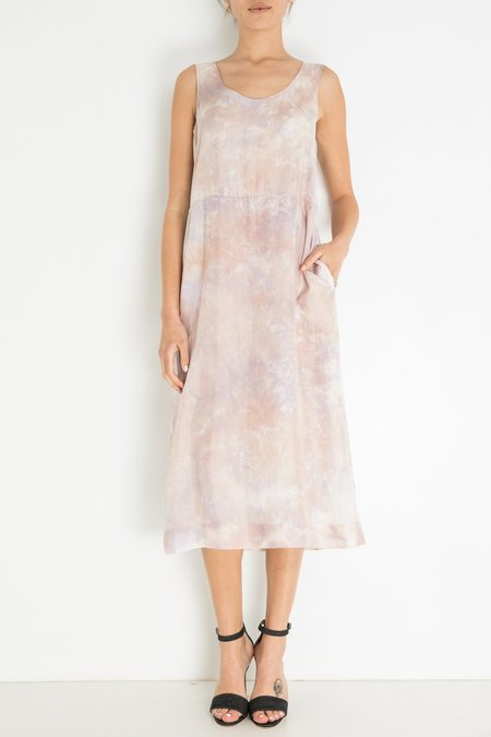 Raquel Allegra A-line Tank Dress - Lavender Thistle