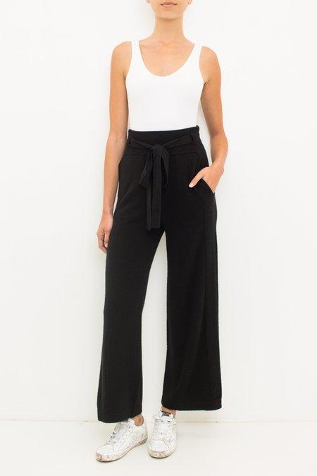 Inhabit Cashmere Lounge Pant - Black