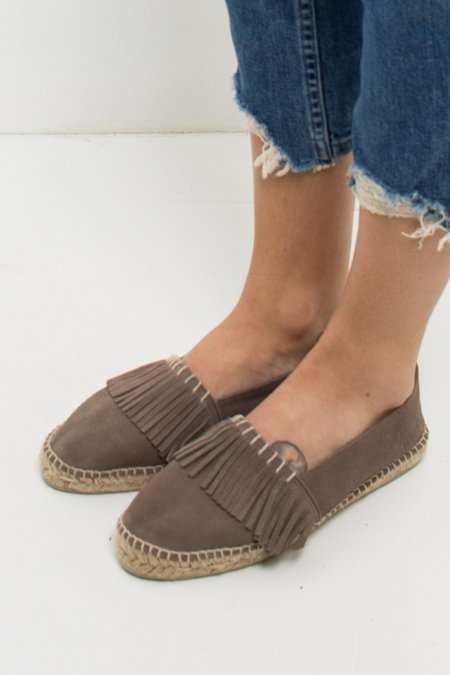 Manebi Cherokee Espadrille - Brown