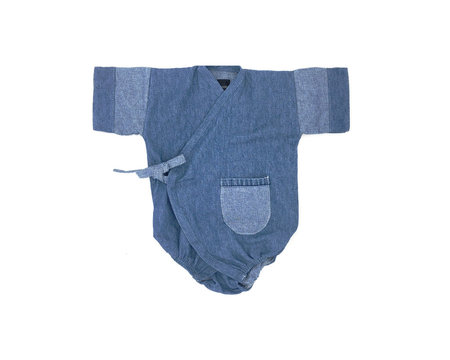 Kids Kiboro La Bolsillo - Light Denim