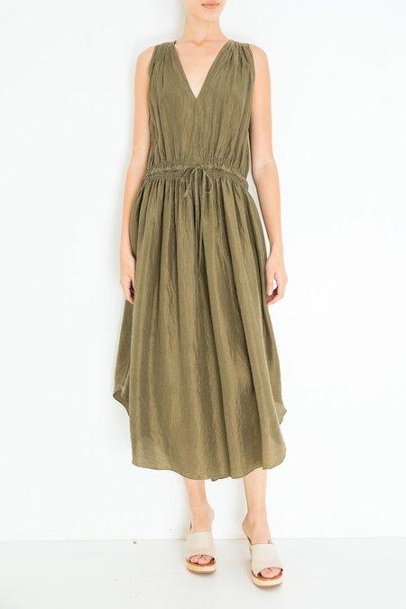 Giada Forte Habotai Silk Dress - Cactus