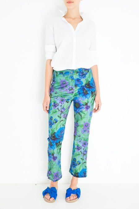 Massimo Alba Laccia Pant - Floral