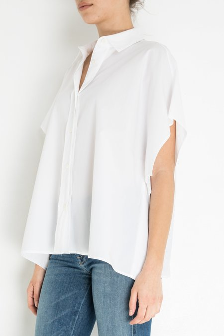 Hache Short Sleeve Shirt - White
