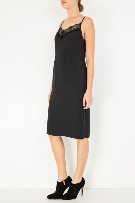 Jenni Kayne Silk Lace Cami Dress - Black