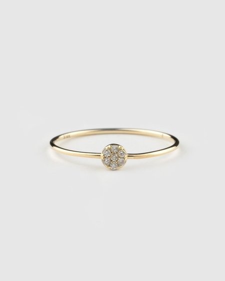 Emi Grannis Cluster Diamond Ring - Yellow Gold