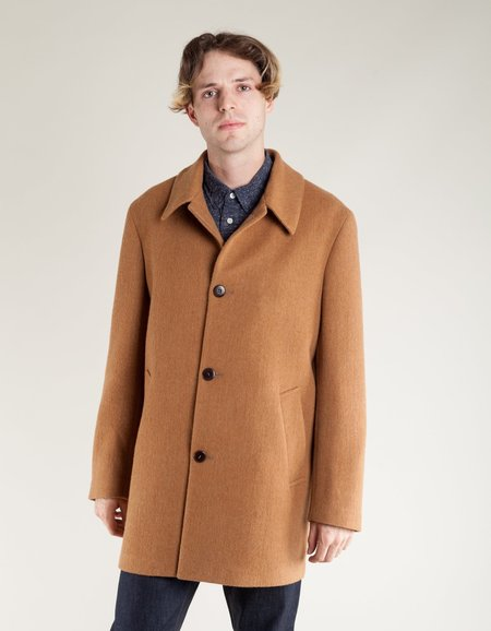 La Paz Heavey Wool Coat - Camel