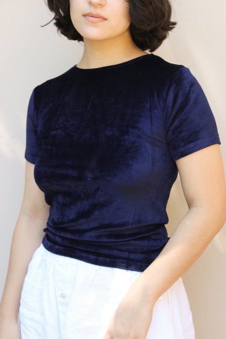 Baserange Omo Tee - MIDNIGHT BLUE