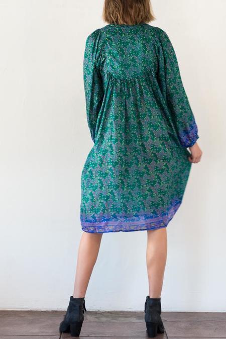 Matta NY Lila Saree Dress - Emerald