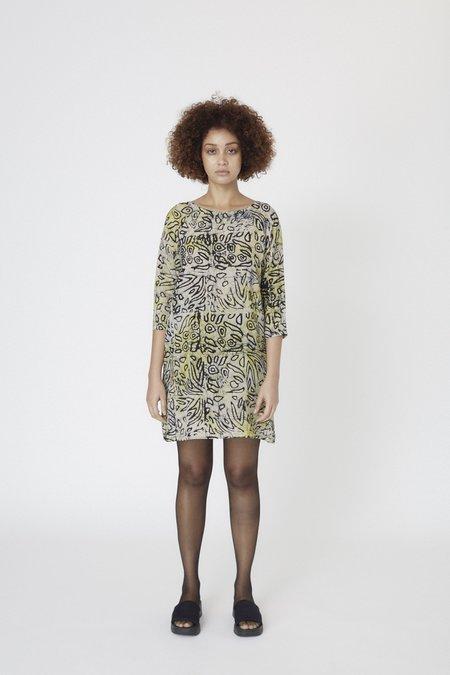 Osei-Duro Linter Silk Dress