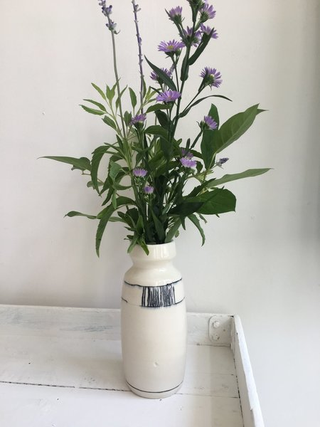 Drew Schenck Hand Drawn Vase