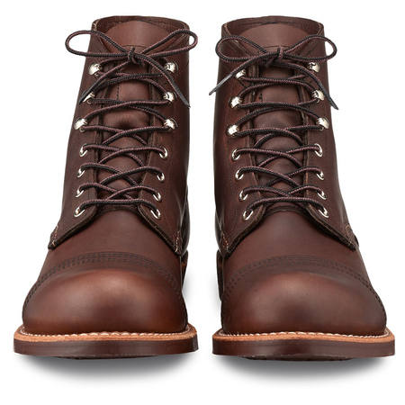 Red Wing Iron Ranger Boots - Amber