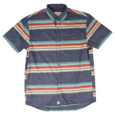 Iron and Resin Sunset Shirt - Striped