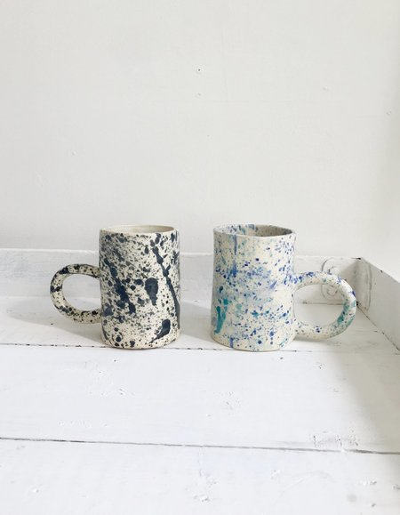Curious Clay Splatter Mugs