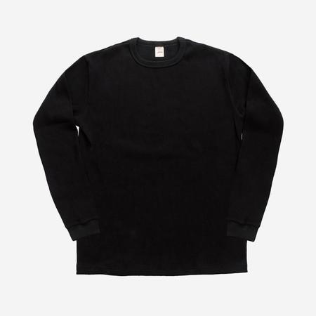 3Sixteen Long Sleeve Thermal Knit - Black
