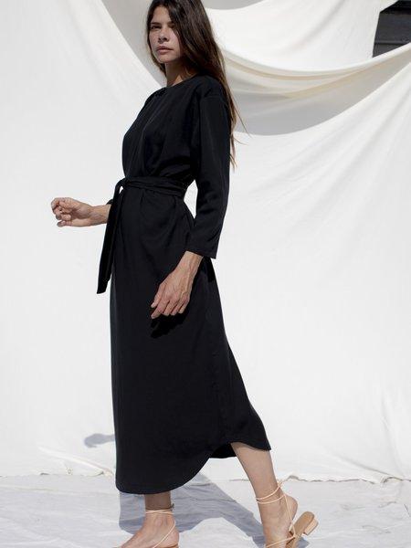 Ozma Cocoon Dress - Black