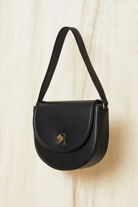 The Stowe Madelyn Lock Bag - black