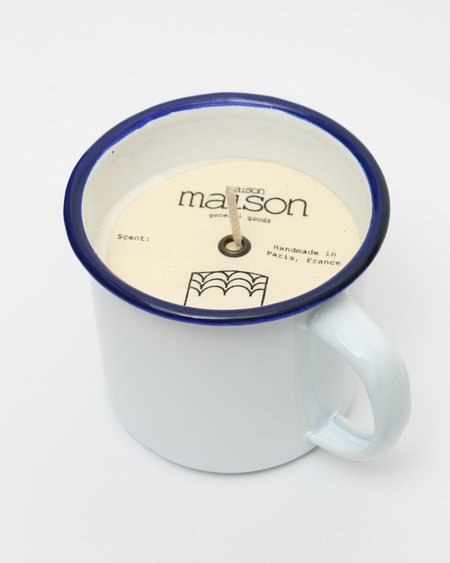 Maison Maison Soy Candle In Metallic Cup - Fresh Cut Grass