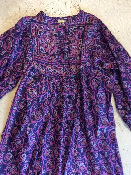Matta Lila Saree Dress - midnight