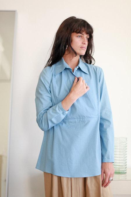Town Clothes Loretta Shirt - Cerulean