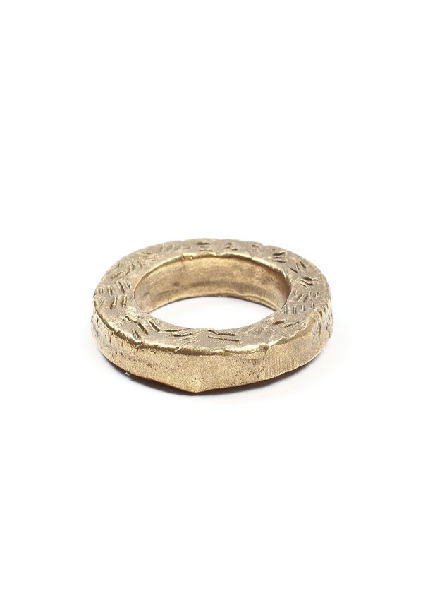 Cold Picnic Flat Etched Ring