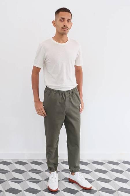Gustav Von Achenbach Washed Cotton Pant