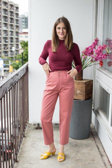 Dagg & Stacey Willa Peg Leg Pant - Pink