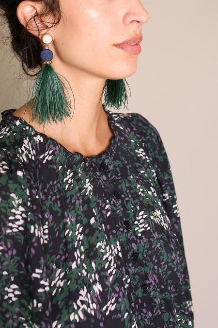 Lizzie Fortunato Parker Earrings - Emerald